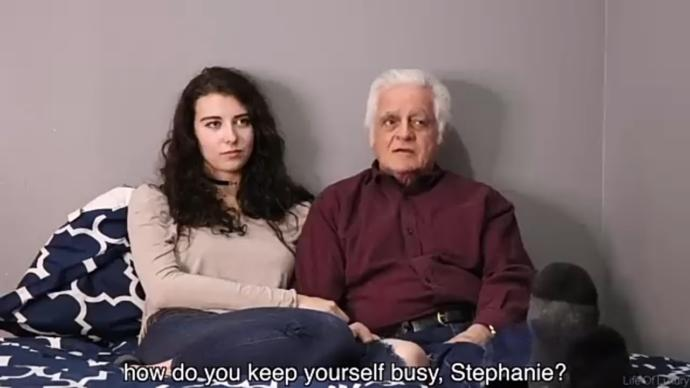 What is your thoughts about a 18 years old dating a 68 years old?