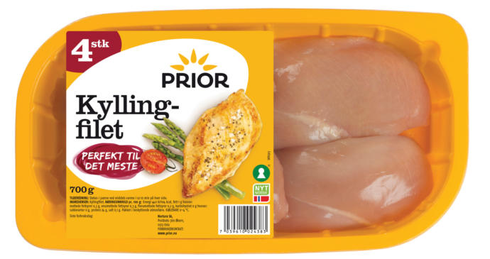 Today 700 gram package with four chicken costs 22,2$ which is an ordinary price.