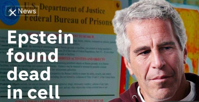 Do you think that someone bumped Jeffrey Epstein off?