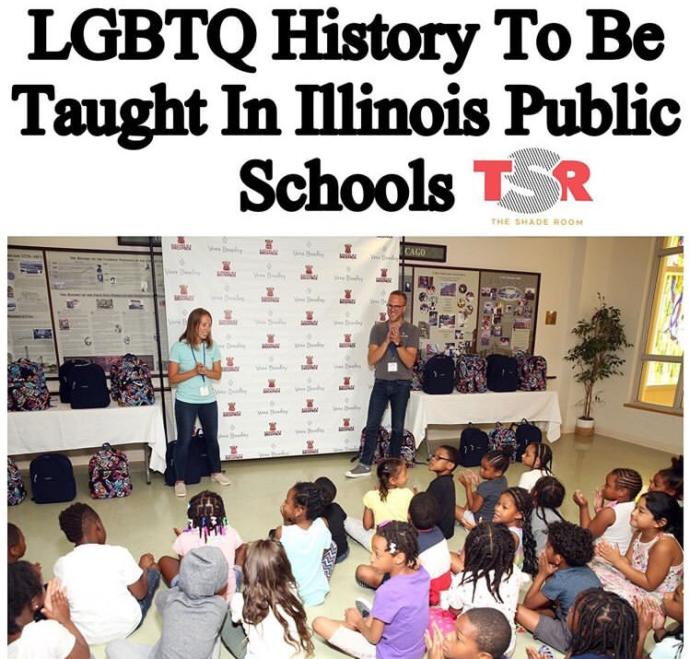 LGBTQ History Being Taught In Schools. Is That A Good Thing Or Bad Thing?