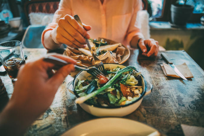 Have you ever had a partner who had a different diet than yours?