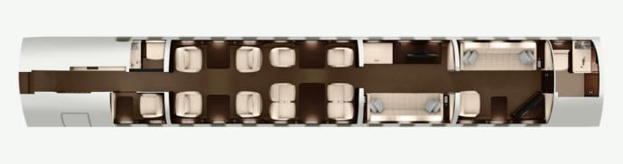 Global 7500 Floorplan