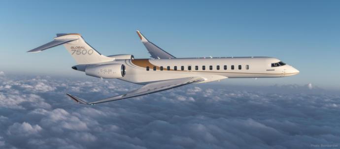 Global 7500 exterior