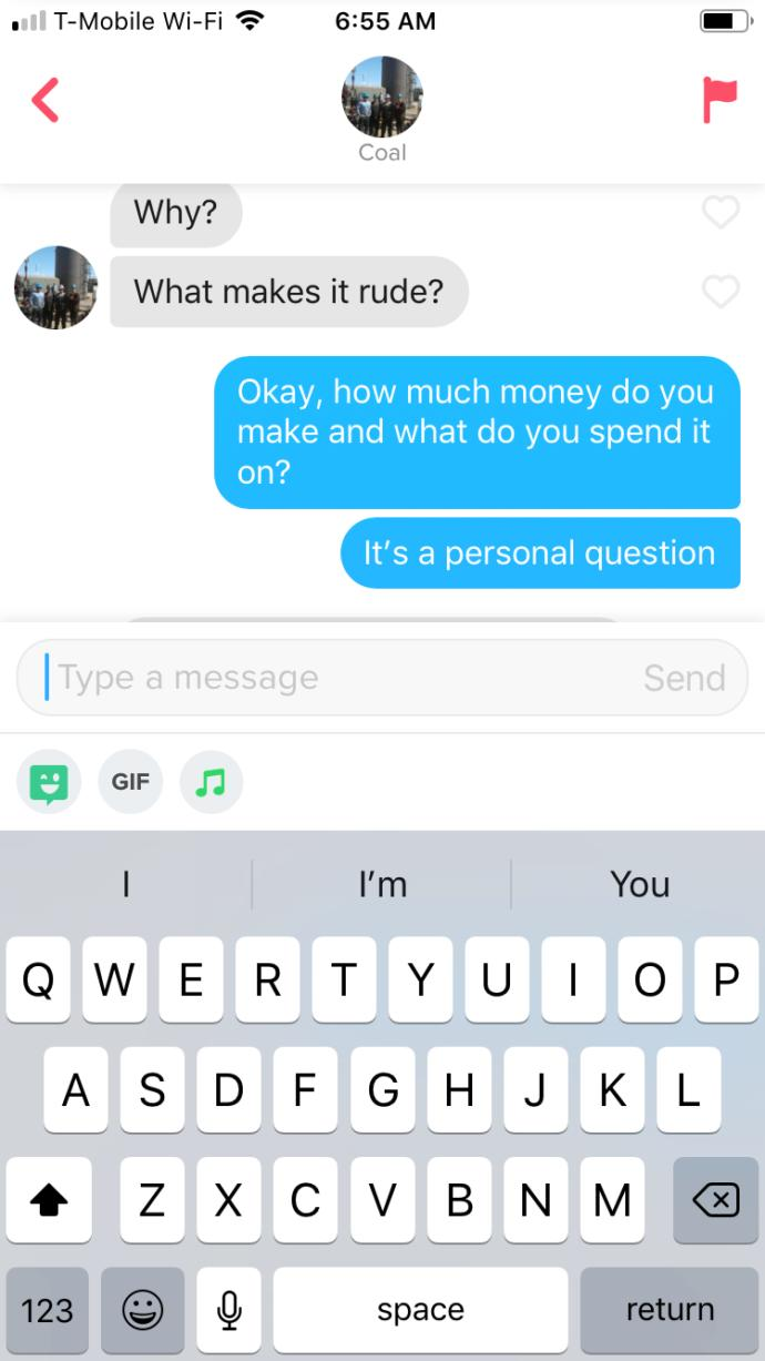 How was this tinder conversation?