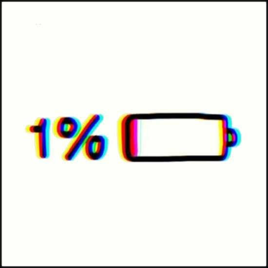 How do you react to low battery notficasion?