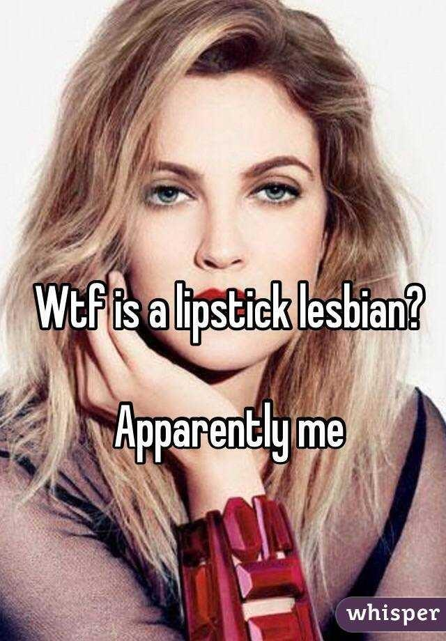 Would you respect a lipstick lesbian if there were no LGBTQ rights?