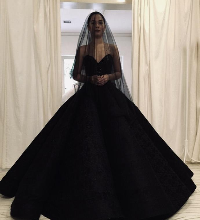 What do you think about black wedding dresses?
