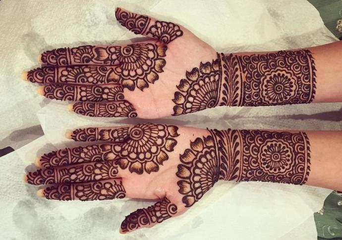 What do you guys and girls think of Mehndi (Henna) on hands?