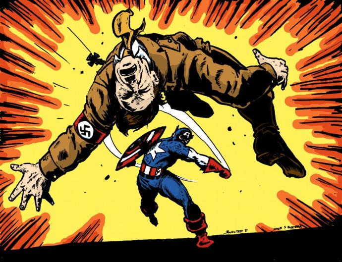 Do you think it's OK to punch a Nazi in the face?