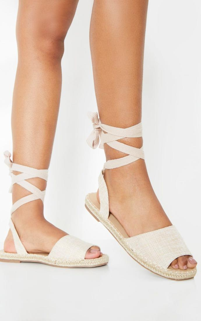 What do you think of these lace up sandals?