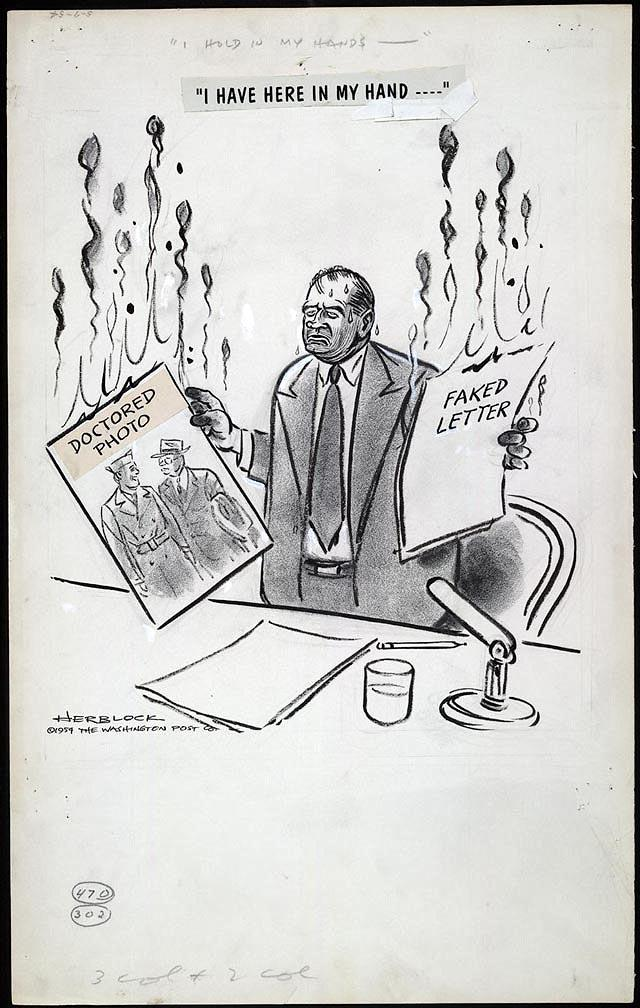 McCarthyism, Squelch against 1st Amendment against anyone who speaks against him, or a legitimate reason to bring this back?
