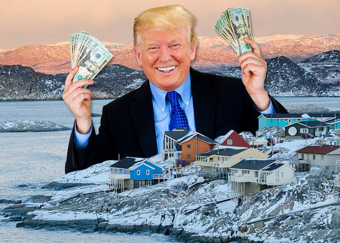 Should Trump lead a military invasion to take Greenland by force, since greedy Danes don't wanna sell it?