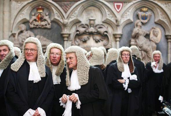 British judges wear wigs