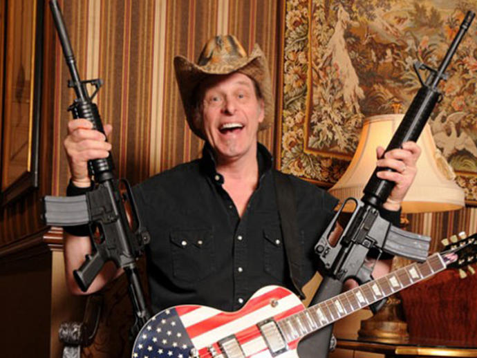 What do you think of Ted Nugent's quote on gun laws?