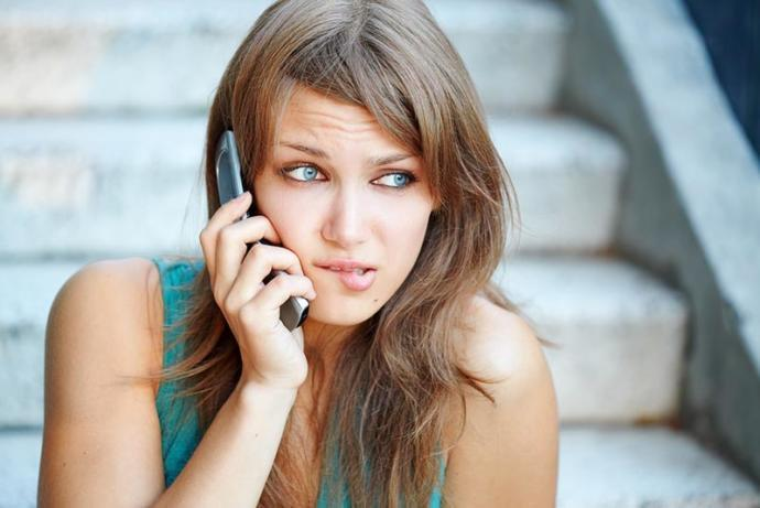 Do you get nervous when someone you like calls you?