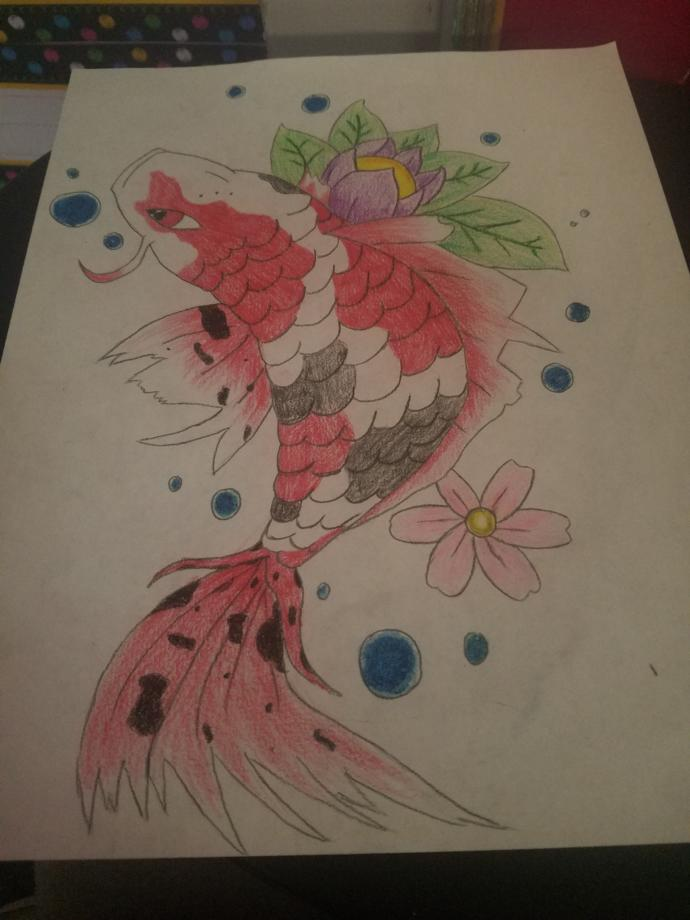 So how does my latest drawing look lol?
