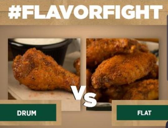 Flats vs Drums and what's you favorite type and or flavor/seasoning for wings?