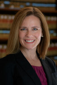 Amy Barrett , our next Supreme Court Justice