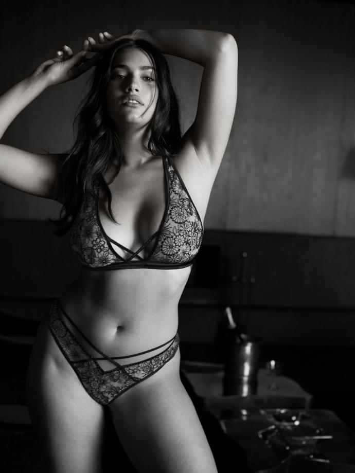Victoria secret finally gets a plus size model. What do you think?