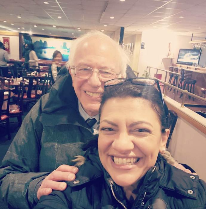 Bernie Sanders & Rashida Tlaib