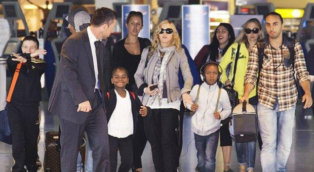 Madonna left America and moved to Portugal to escape Trump. What do you think?