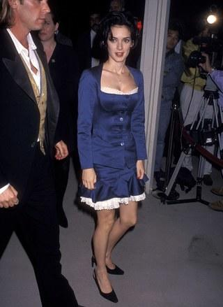 How tall is Winona Ryder?