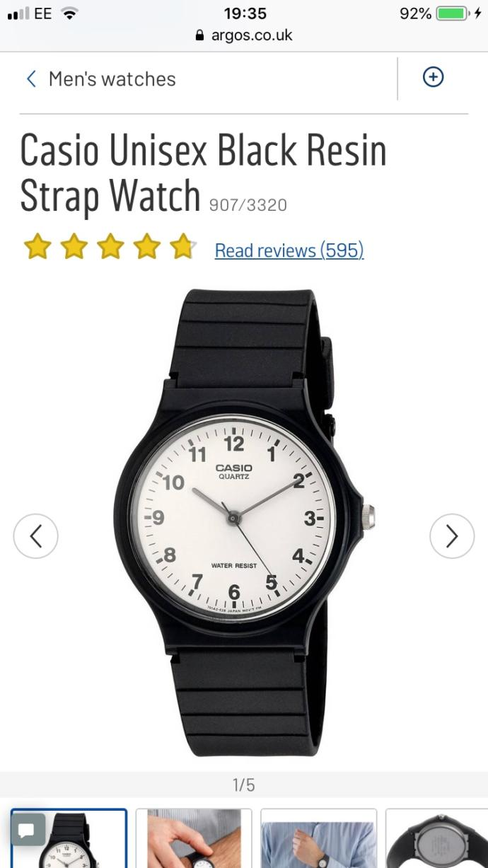 Will you wear the watch?