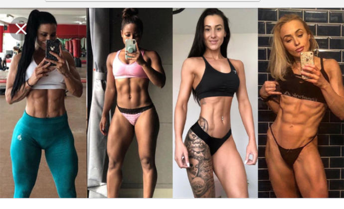 Are women with abs attractive?