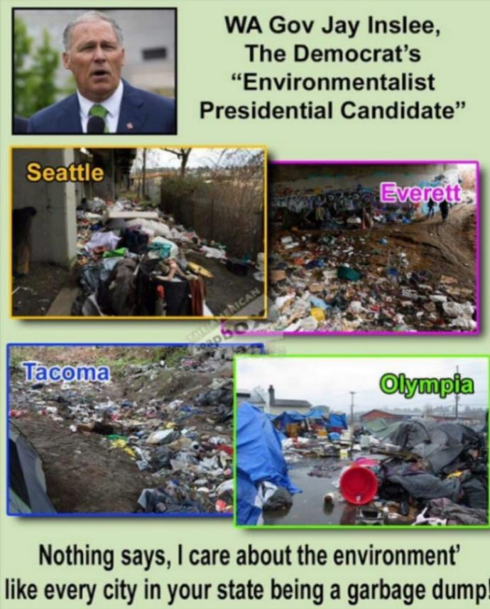 Do you find most liberal environmentalists to be the biggest hypocrites and can you cite an example?