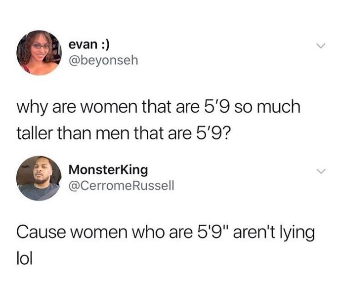 Why Do Men Lie About Their Height So Much? - GirlsAskGuys