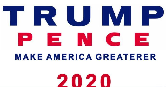 Vote Trump and Pence 2020?