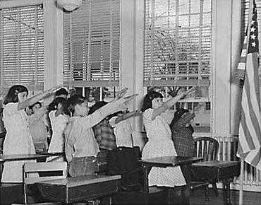 """Should the words, """"Under God,"""" be taken out of the U. S. pledge of Allegiance?"""
