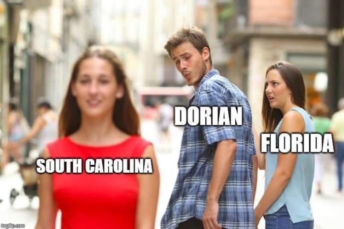 Who will be affected by Hurricane Dorian?