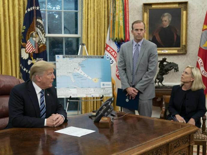 Do you think Trump redirecting funds from FEMA to ICE will adversely impact the ability to respond and recover from Hurricane Dorian?