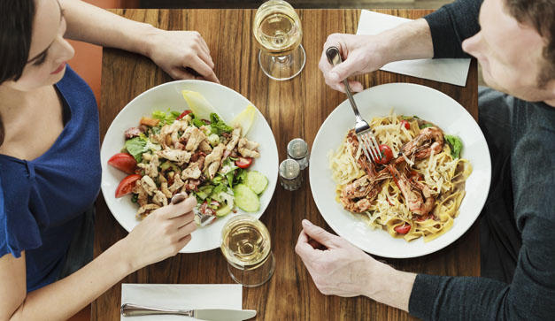 Would you date someone who has different eating habits than you?