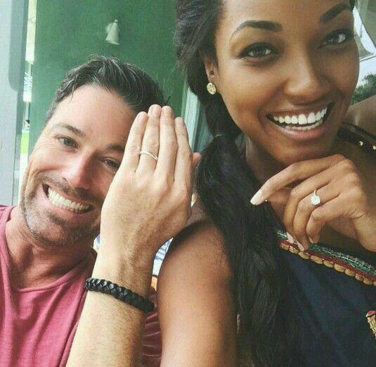 True or false. At least half of the most attractive black girls date/marry non black men?