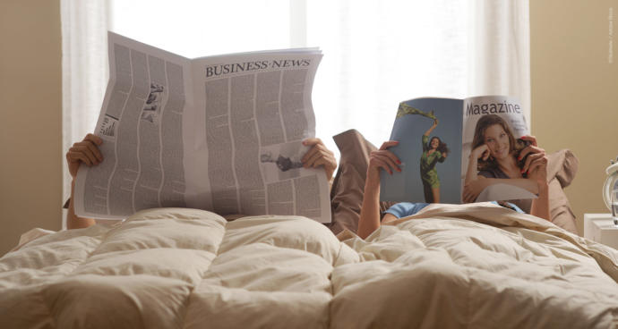Do you believe it's important to catch up with the news?