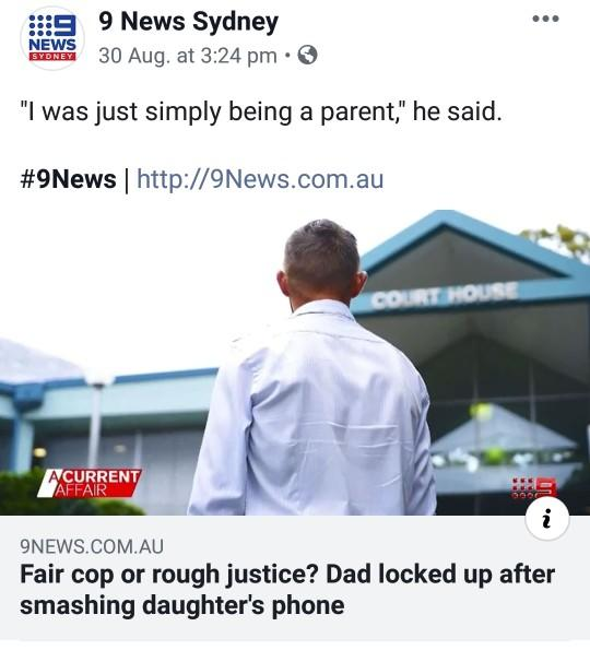 Fair reason or stupid justice system?