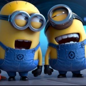 Minions having fun