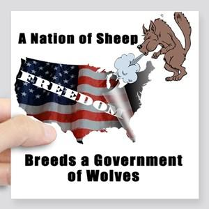Does a nation of sheep breed a government of wolves?