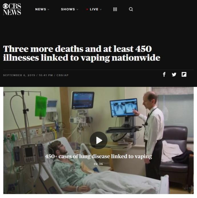 Modernists are dying from the vaping trend while traditionalists with healthy lunges are laughing at them, thoughts?