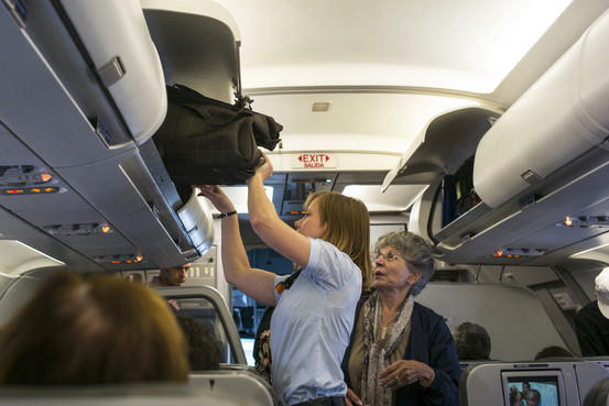 When you are passing someone in the aisle of an airplane, do you give them the butt or crotch? Does it matter if they are attractive?