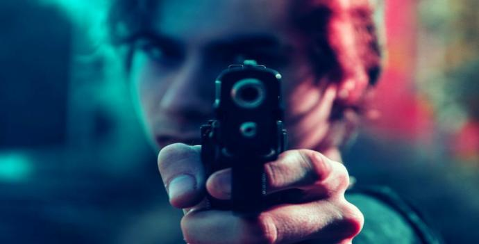 How would you respond to have a gun pointed at you, would you speak carefully and confident or crying and irrational?