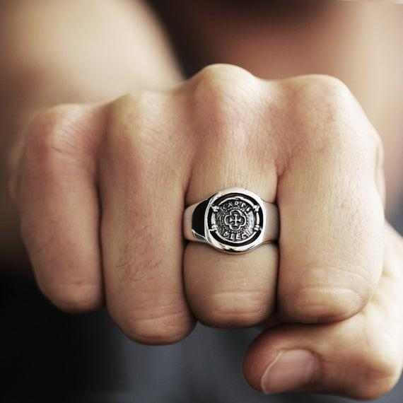 What's your opinion on rings on men?