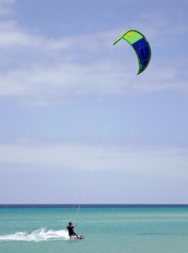Would you like to go kiteboarding?