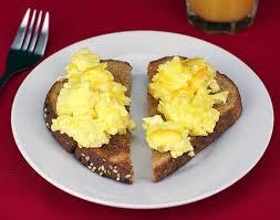 Do you like egg on toast?