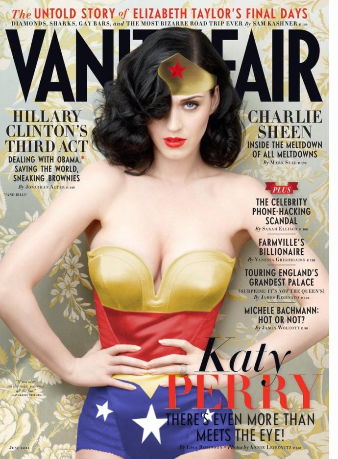 Katy Perry - a has been who needs gobs or makeup to look hot or a decent performer and singer?