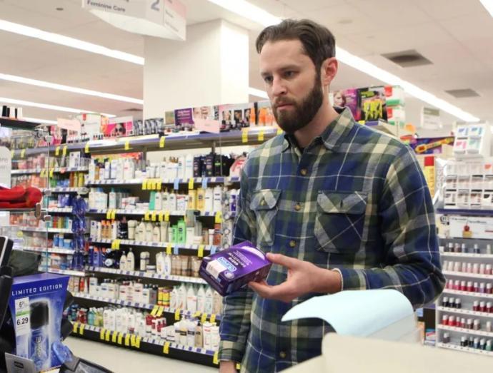 What do you do when you buy condoms?