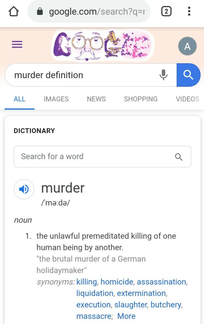 Do you consider lawful and legal abortions murder?