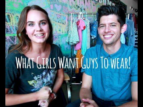 Girls, what do you think looks cutest on a guy?